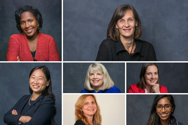 Collection of Dyson women faculty